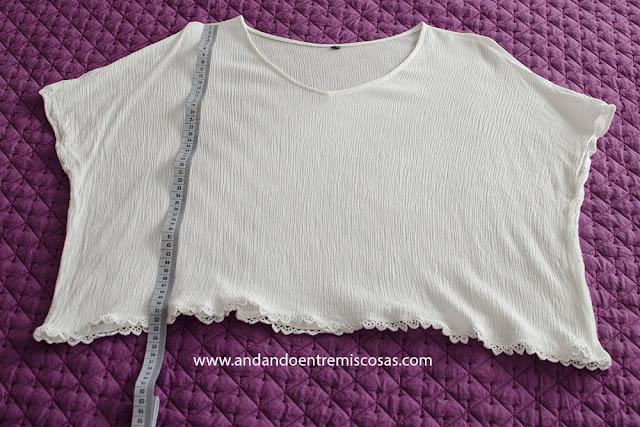 Camiseta Cuello En V De SheIn
