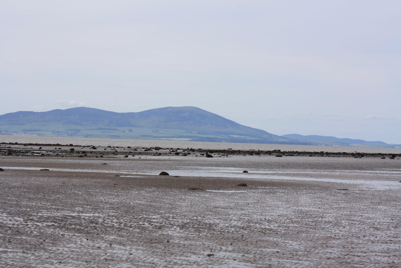 Solway Firth low tide