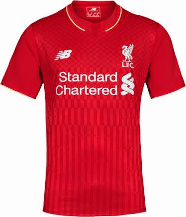 jual online jersey musim depan kualitas grade ori made in thailand Jersey Liverpool home official terbaru musim depan 2015/2016
