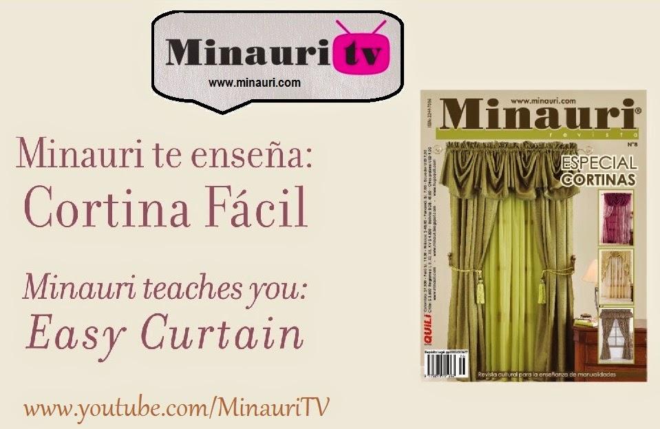 PATRON GRATIS del video CORTINA FACIL - Minauri Sew - Craft - Cakes ...