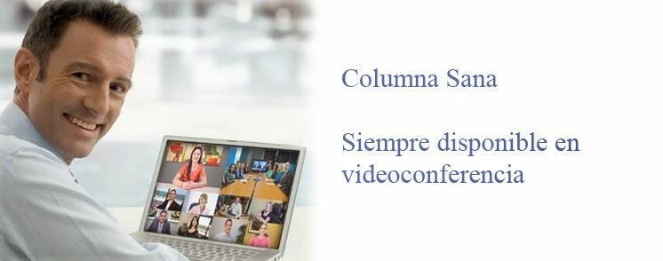 Contacta Con Columna Sana
