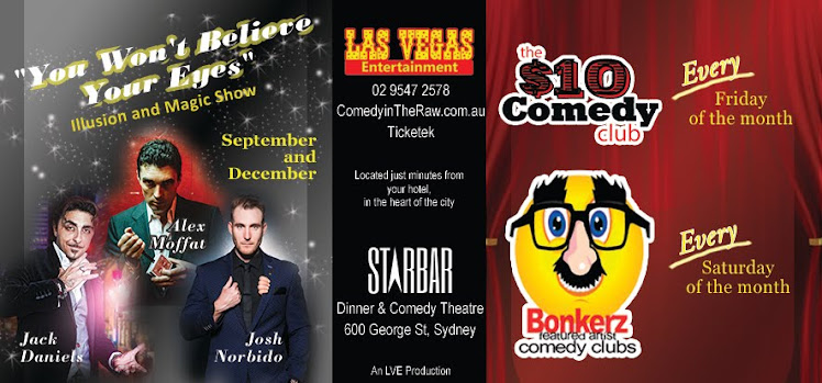 Magic/Illusion Show / BonkerZ / $10 Dollar Comedy Clubs Australia