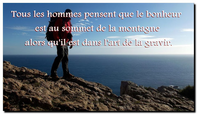 Citation sur montagne