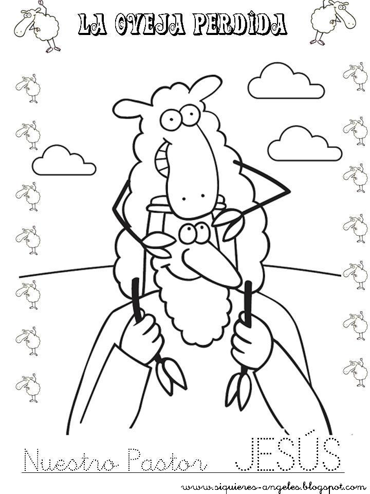Si quieres aprender, ENSEÑA.: La oveja perdida