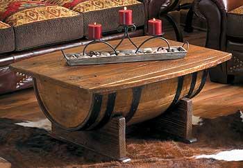 Whiskey Barrel Poker Table Pour terminer sur les tables de salon fait de baril de bois ou de ...