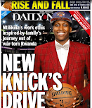 Somehow, Knicks take Daily News back page