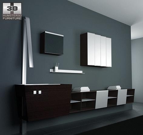 Ozel+tasar%C4%B1m,+banyo+dolap+modeli Banyo Dekorasyonuna Özel Tasarımlar Eklendi