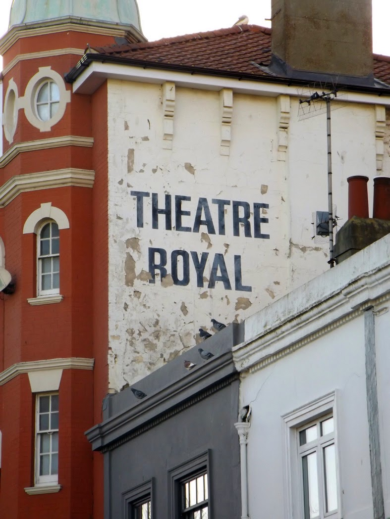 theater royal painted sign brighton