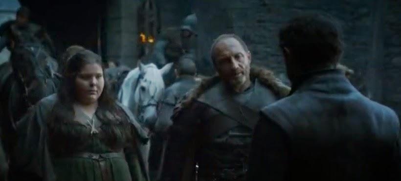 Roose Bolton, Walda la Gorda y Ramsay -  Juego de Tronos en los siete reinos
