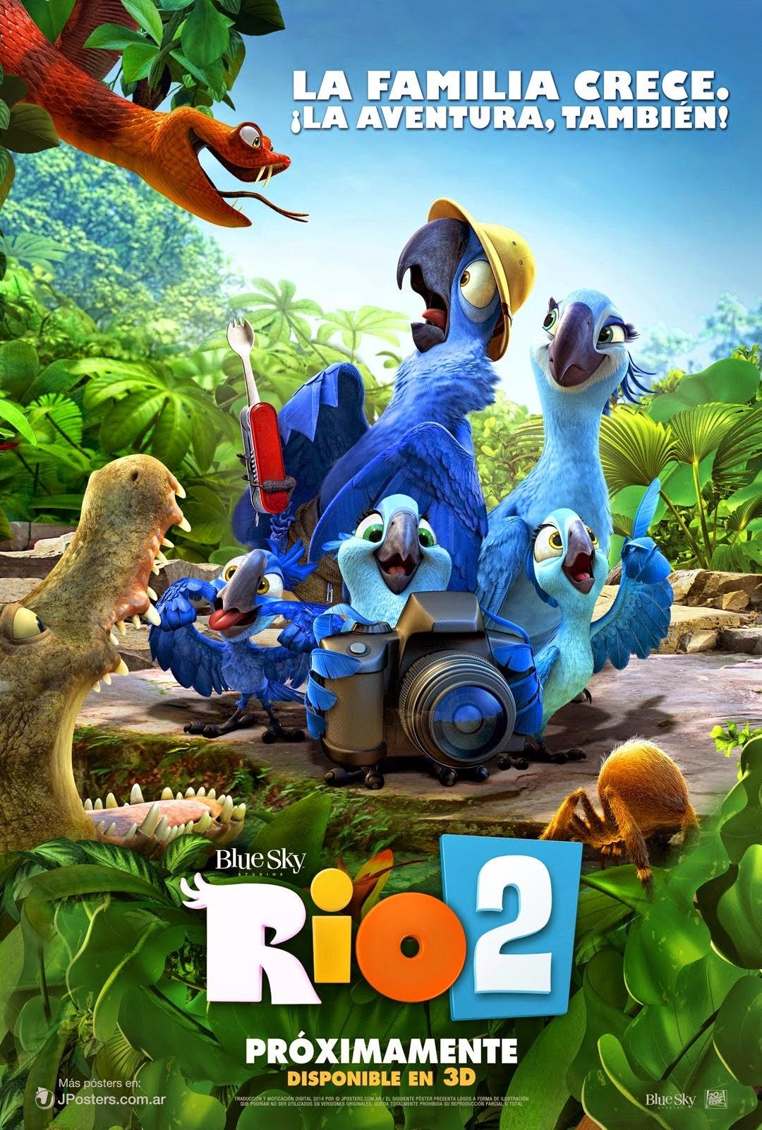 Rio 2 (2014) ริโอ 2 เจ้านกฟ้าจอมมึน 2 Full HD มาสเตอร์ พากย์ไทย