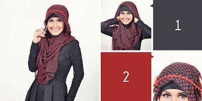 Cara Memakai Jilbab Pashmina Dengan Headband