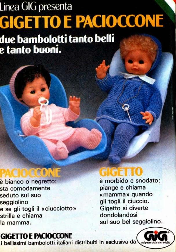 Gigetto Pacioccone Bambolotti Gig
