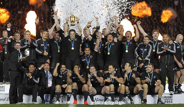 All Blacks Rugby World Cup 2011 Champions