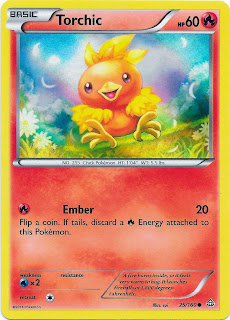 Torchic Primal Clash Pokemon Card