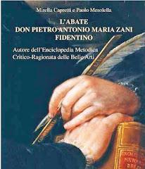 L'Abate don Pietro Antonio Maria Zani fidentino