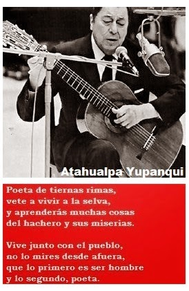 Atahualpa Yupanqui.