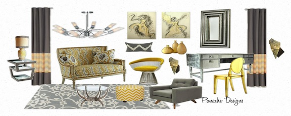 Panache Designs Featuring Olioboard 2D and 3D Mood Boards