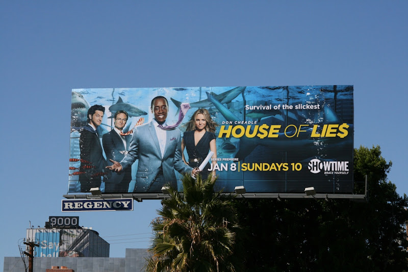 House of Lies TV billboard