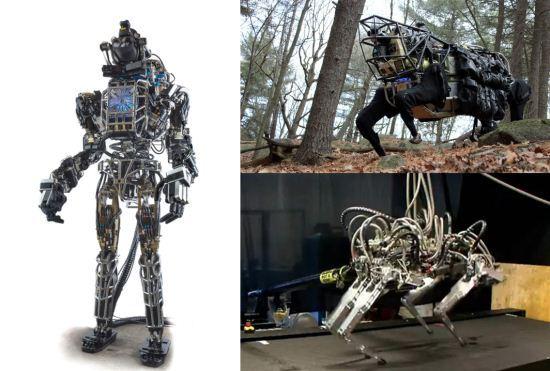 Robot Atlas, BigDog dan Cheetah