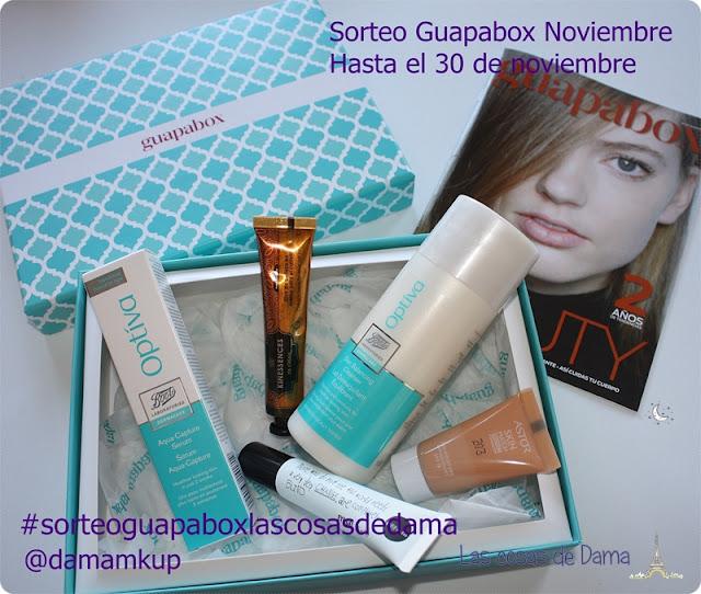 Sorteo Guapabox Noviembre