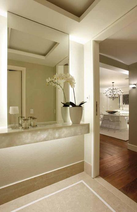 decoracao de interiores hall de entrada:Revista Comodidade – Arquitetura e Design: Design Minimalista