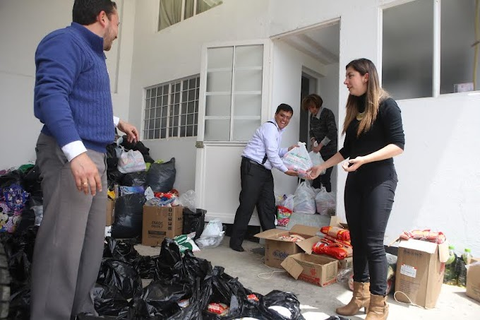 Llegaron ayudas a damnificados de Cubará