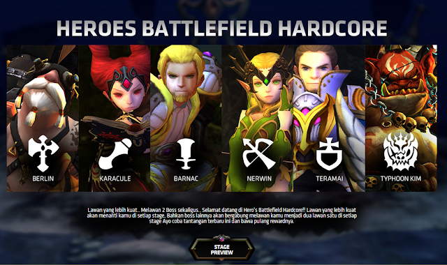 Dragon Nest Update Terbaru Heroes Battlefield Hardcore