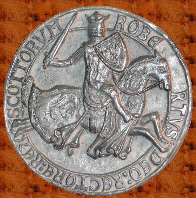 Robert Bruce, medalha comemorativa