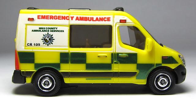 Matchbox Renault Master Ambulance Matchbox Renault Master