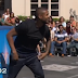 Usher takes on the 'American Ninja Warrior' parking lot course