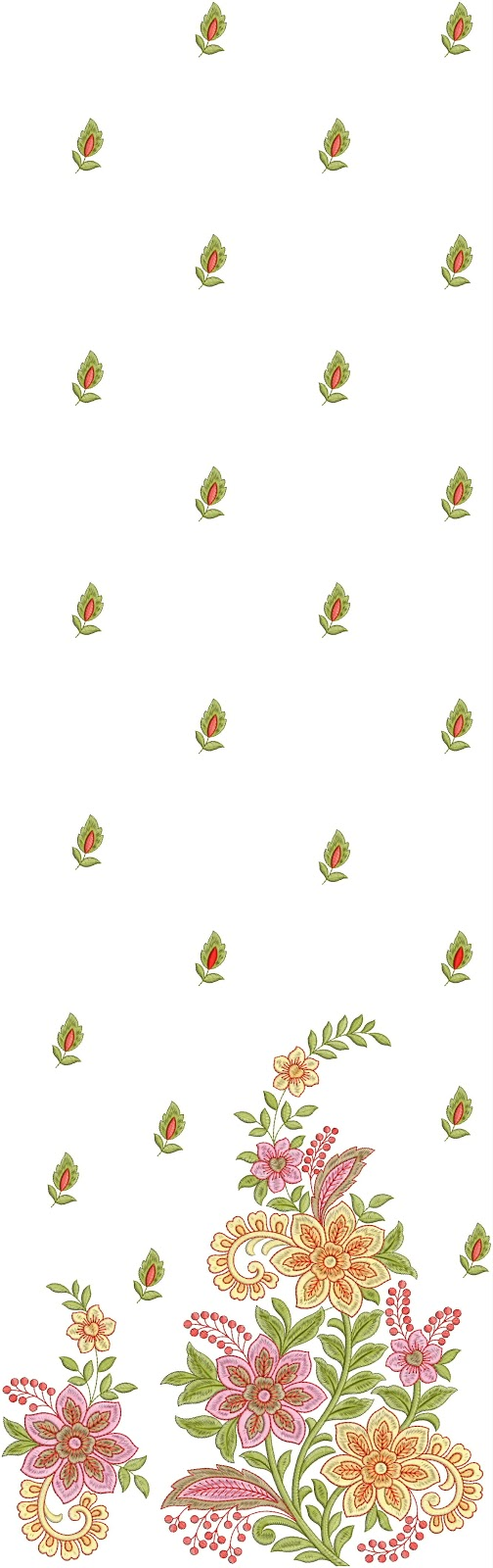 Embdesigntube daman embroidery designs for curtains