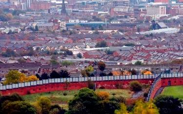 Τα τείχη της ειρήνης της Βόρειας Ιρλανδίας