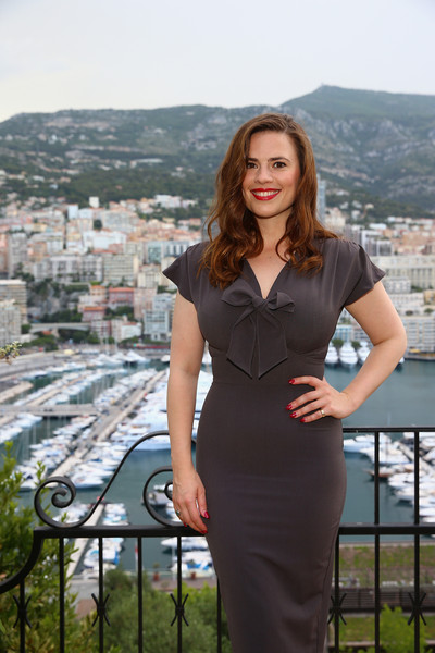 Actress @ Hayley Atwell - 55th Monte Carlo TV Festival, Monaco