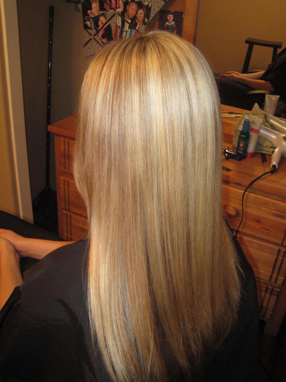 Blonde With Auburn Highlights Auburn highlights.