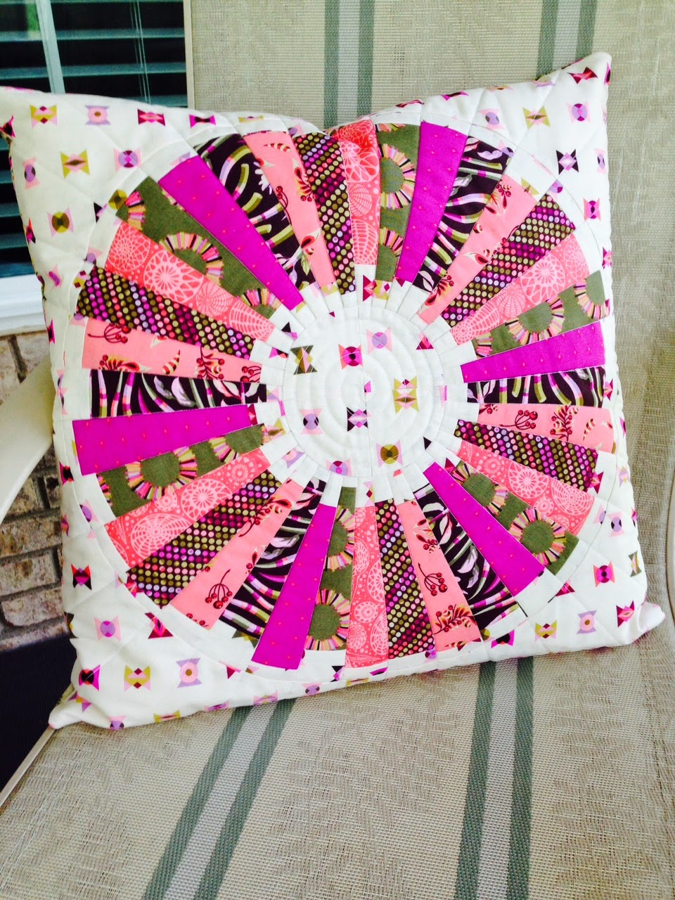 Karen S Sewing Room Tula Pink Pillows