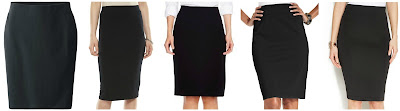 Uniqlo Pencil Skirt $9.90 (regular $19.90)  Apt 9 Midi Pencil Skirt $19.99 (regular $30.00)  Merona Bi-Stretch Twill Pencil Skirt $22.99 buy 1 get 1 50% off  Style&co Pull On Ponte Knit Pencil Skirt $31.99 (regular $42.50)  Vince Camuto Zip Back Scuba Pencil Skirt $58.99 (regular $79.00)