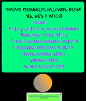photo of Madame Periwinkle's Halloween Brew, Halloween, Pdf, Teacher Park