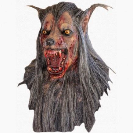 Máscara de Lobo Gris