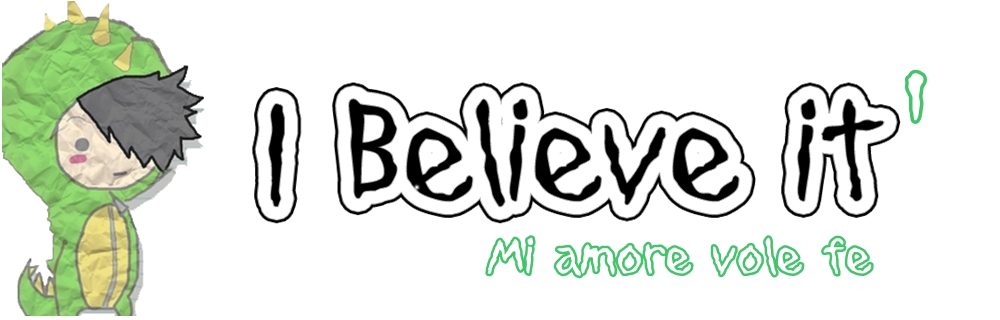 'I Believe it