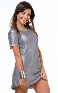 modelos de Vestido Prata