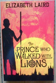 Cover for The Prince who Walked with Lions by Elizabeth Laird