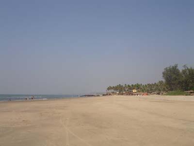 Ashwem Beach Goa