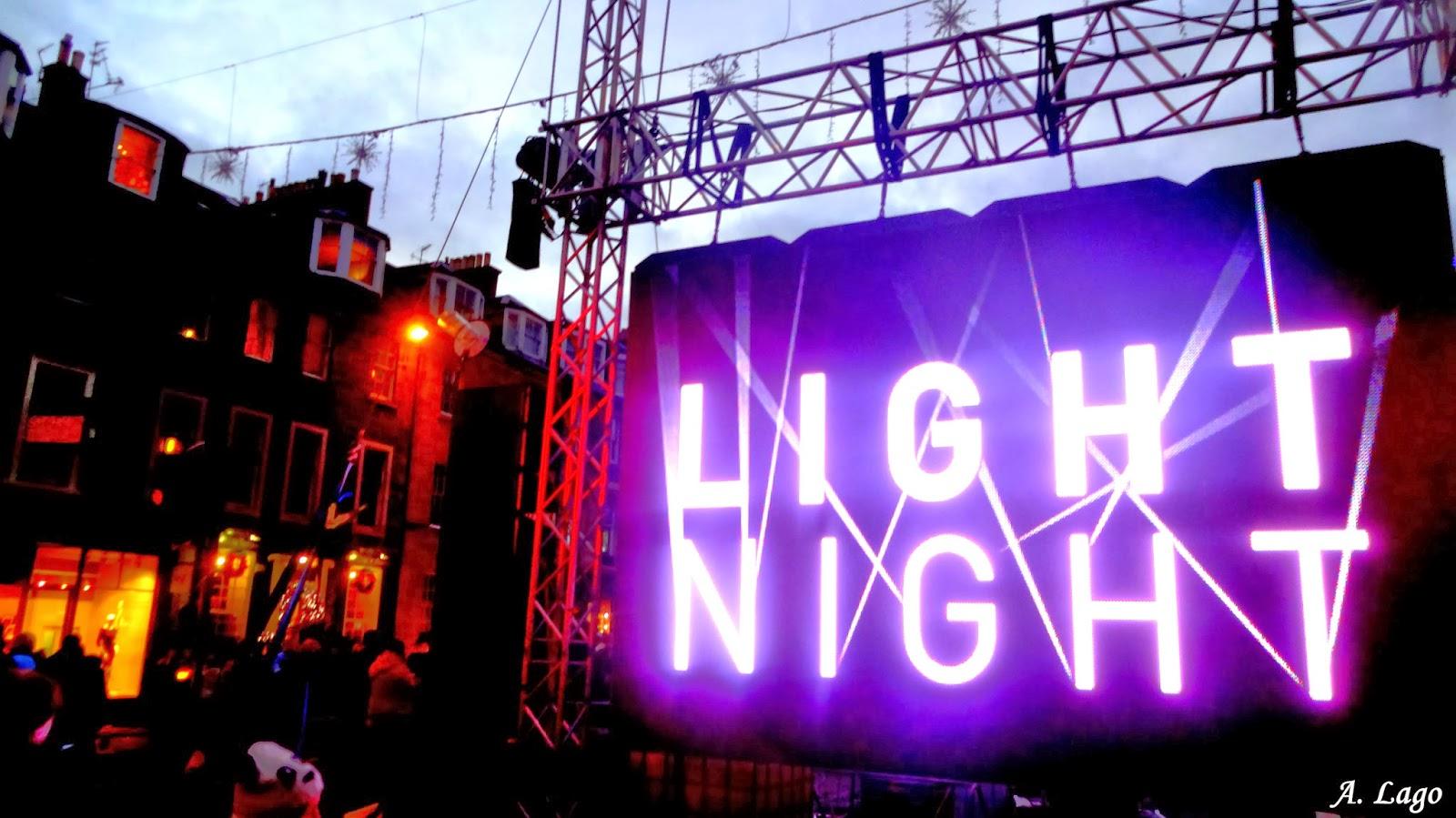 Living Edinburgh Light Night