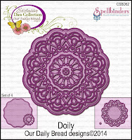 Our Daily Bread designs Custom Doily Dies