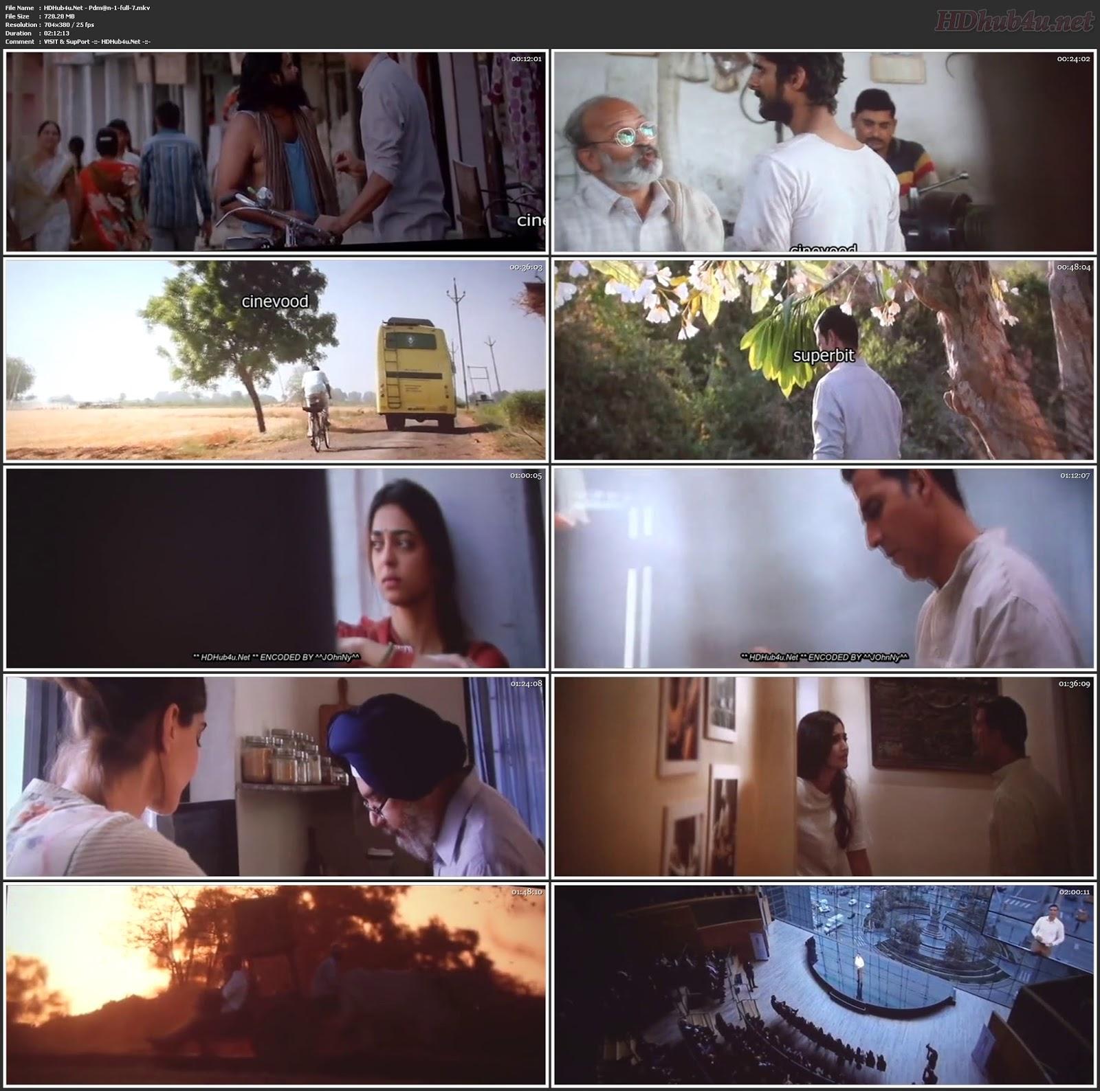 Padman 2018 Hindi Pre-DVDRip 350MB 700MB