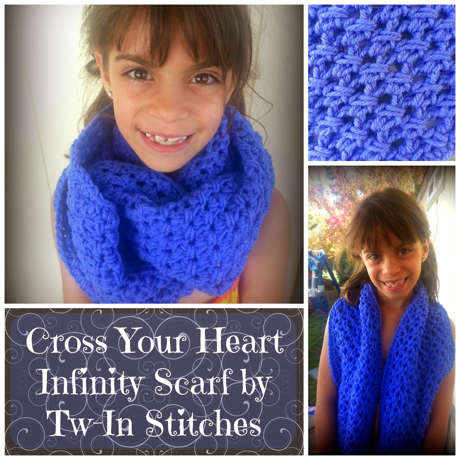 Cross Your Heart Infinity Scarf