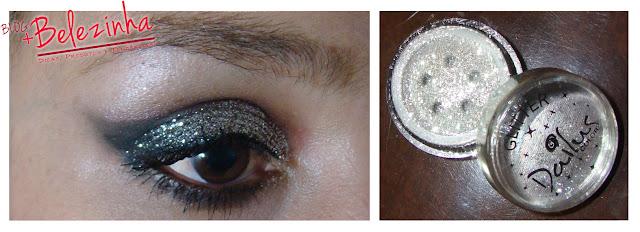 make-silver-glitter