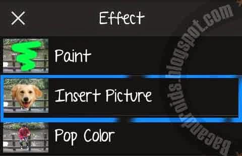 Cara Foto Menambahkan Sayap PicSay di Android