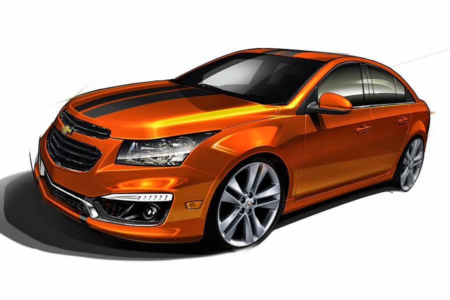 Chevrolet Cruze RS Plus Concept (2015 Rendering) Front Side