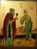 Cuviosul Zosima si Maria Egipteanca